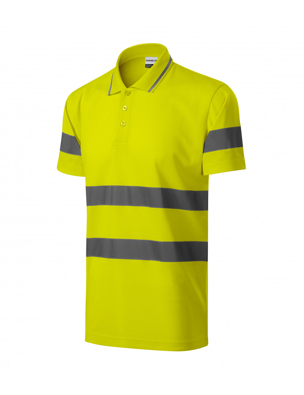 High-visibility clothing with a logo will make you stand out even better