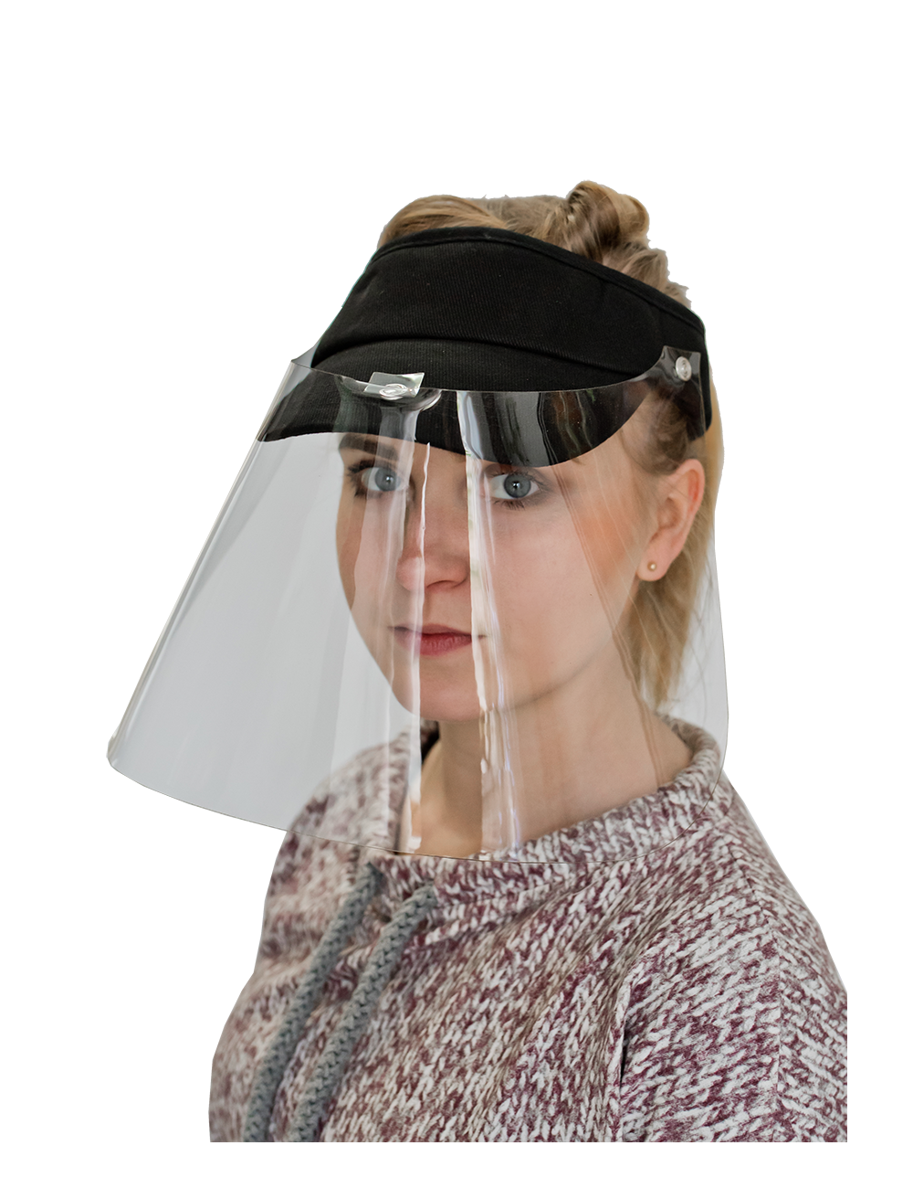 Helm pelindung untuk seluruh wajah