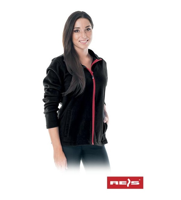 Sweat polaire de protection femme REIS Polladyds noir